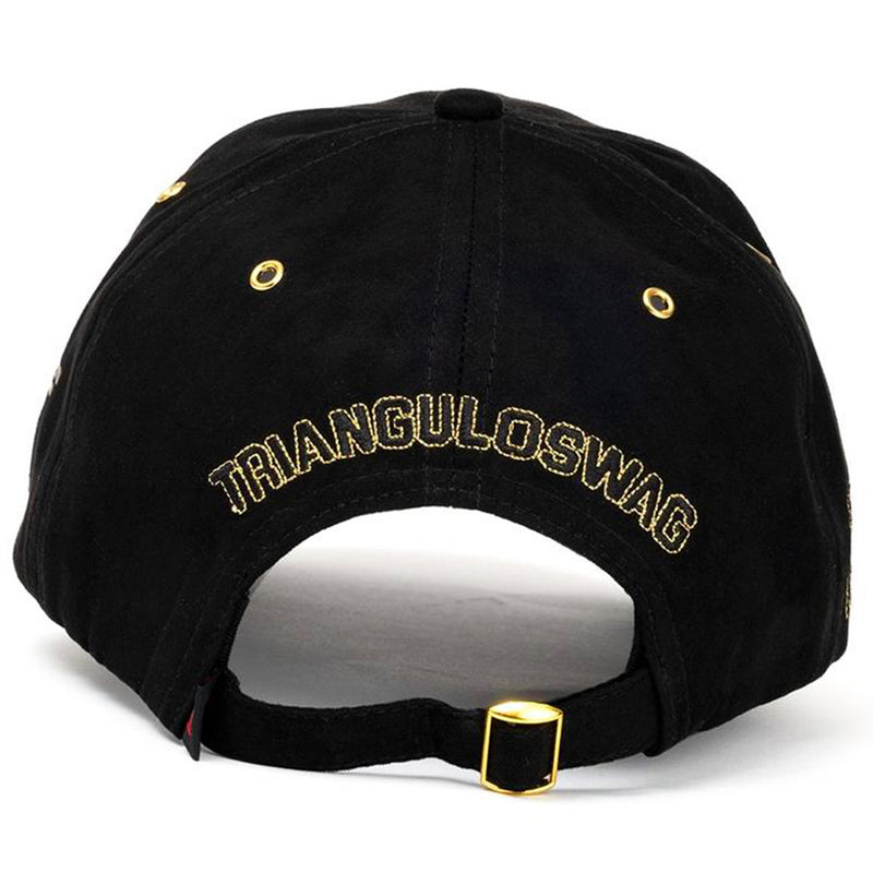Triangulo Swag Japan Limited Edition Hat (Black) Rear View