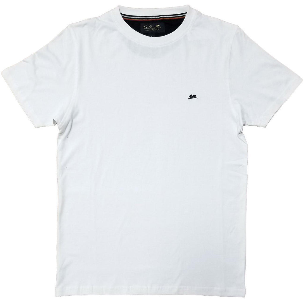 Evan Plain T-Shirt (White) | A. Tiziano