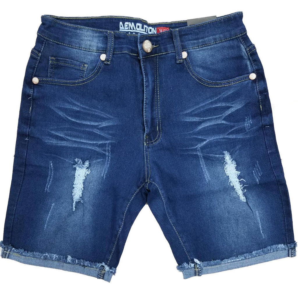 Demo Medium Blue Jean Shorts