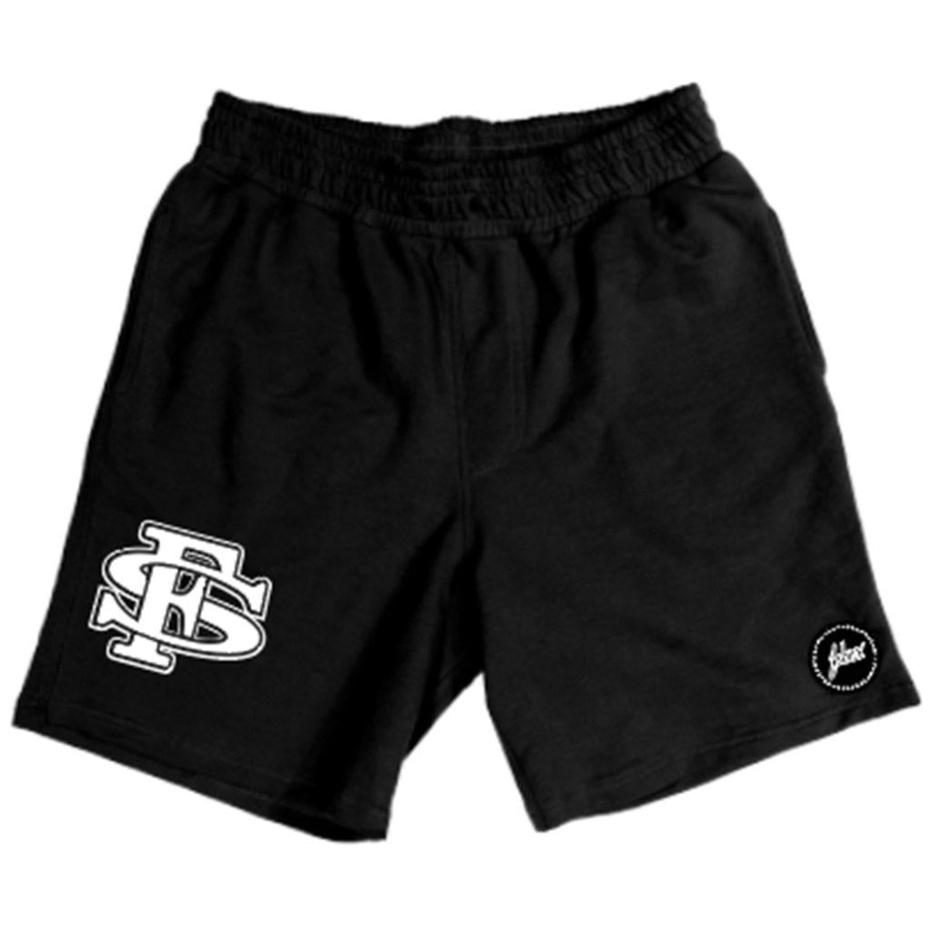 Stadium Hybrid Short (Black/White) | FSHNS Brand