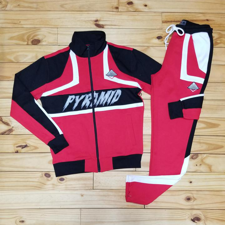 BP Cut And Sew Track Set (Red)