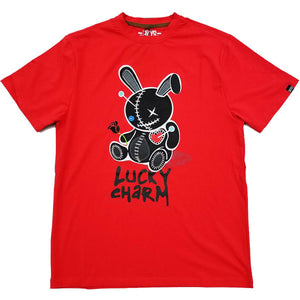 Lucky Charm Patch Tee (Red) | BKYS