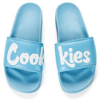 Cookies Original Logo Slides (Blue) Top | Cookies Clothing