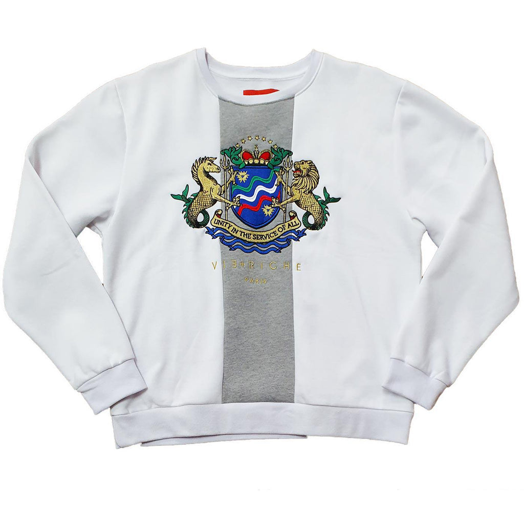 Shielded Crewneck (White)