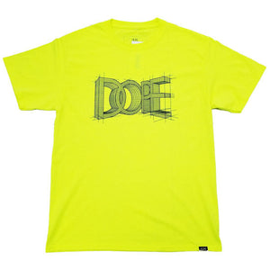 DOPE Blueprint Tee (Safety Green)