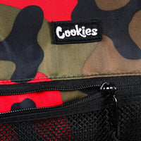 Summit Ripstop Smell Proof Duffle Bag (Red Camo) New | Cookies Clothing