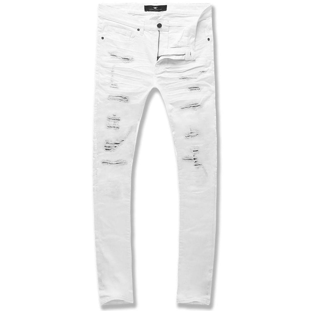 Ross Tribeca Twill Jeans (White)