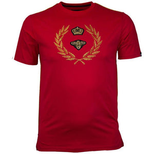 Crown Crest T Shirt (Red)