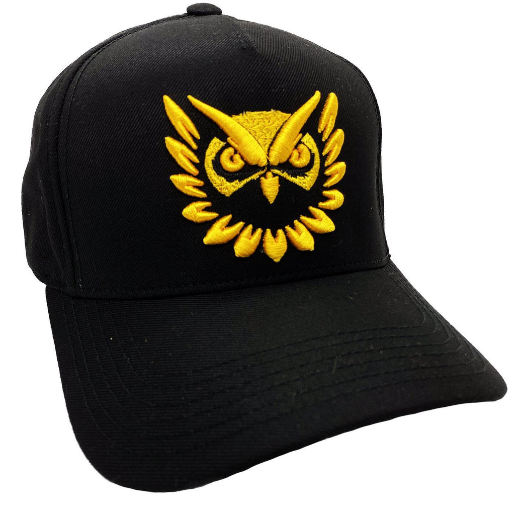 Owl Vision Hat (Black/Gold)