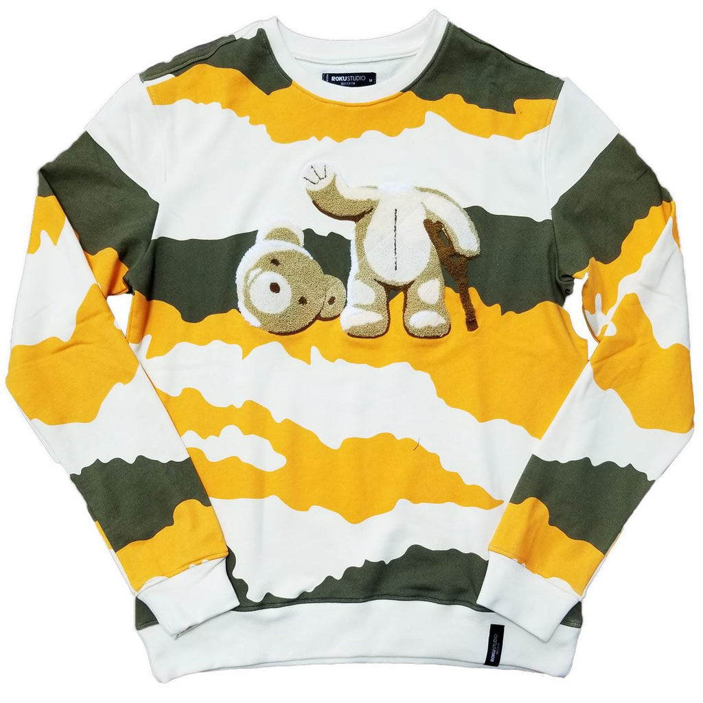 Kill The Bear Crewneck (Olive)