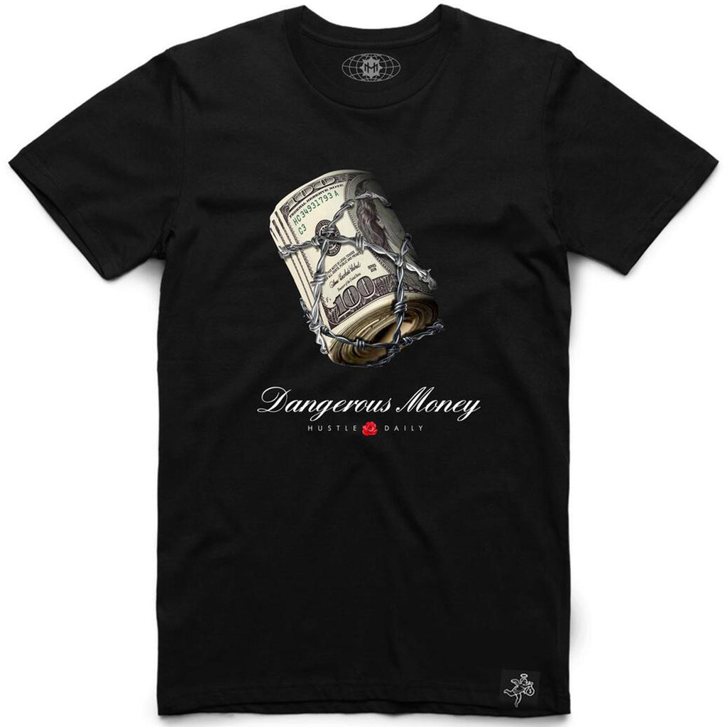 SKY - Dangerous Money Tee (Black)
