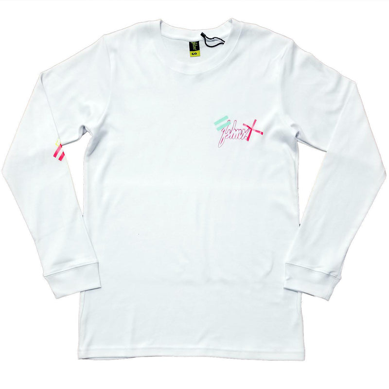 3010 Collection Long Sleeve Tee (White) | FSHNS Brand