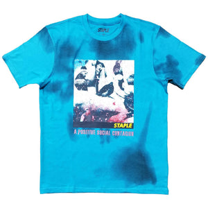 Posterized Box Tee (Blue) | Staple Pigeon