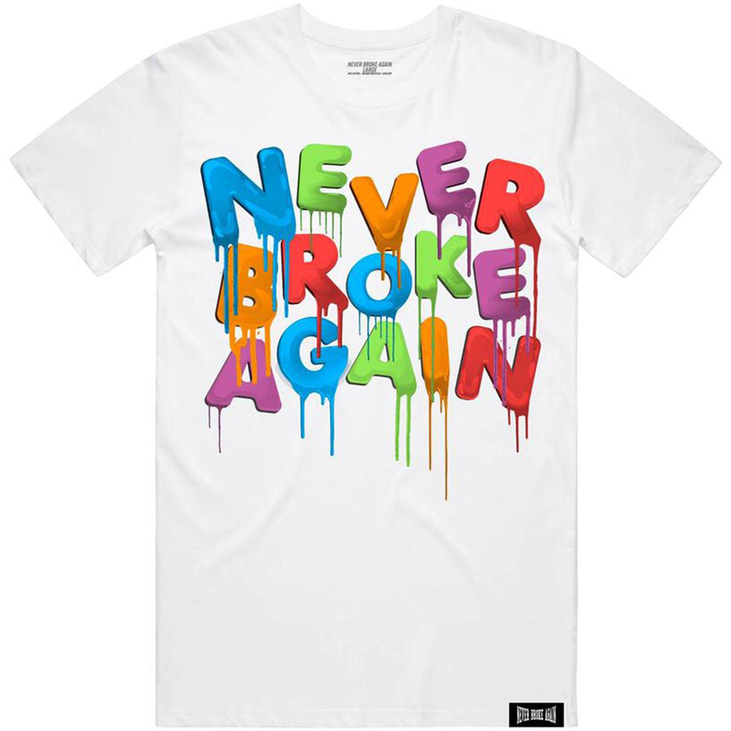 Sep Drip Tee (White) | Never Broke Again