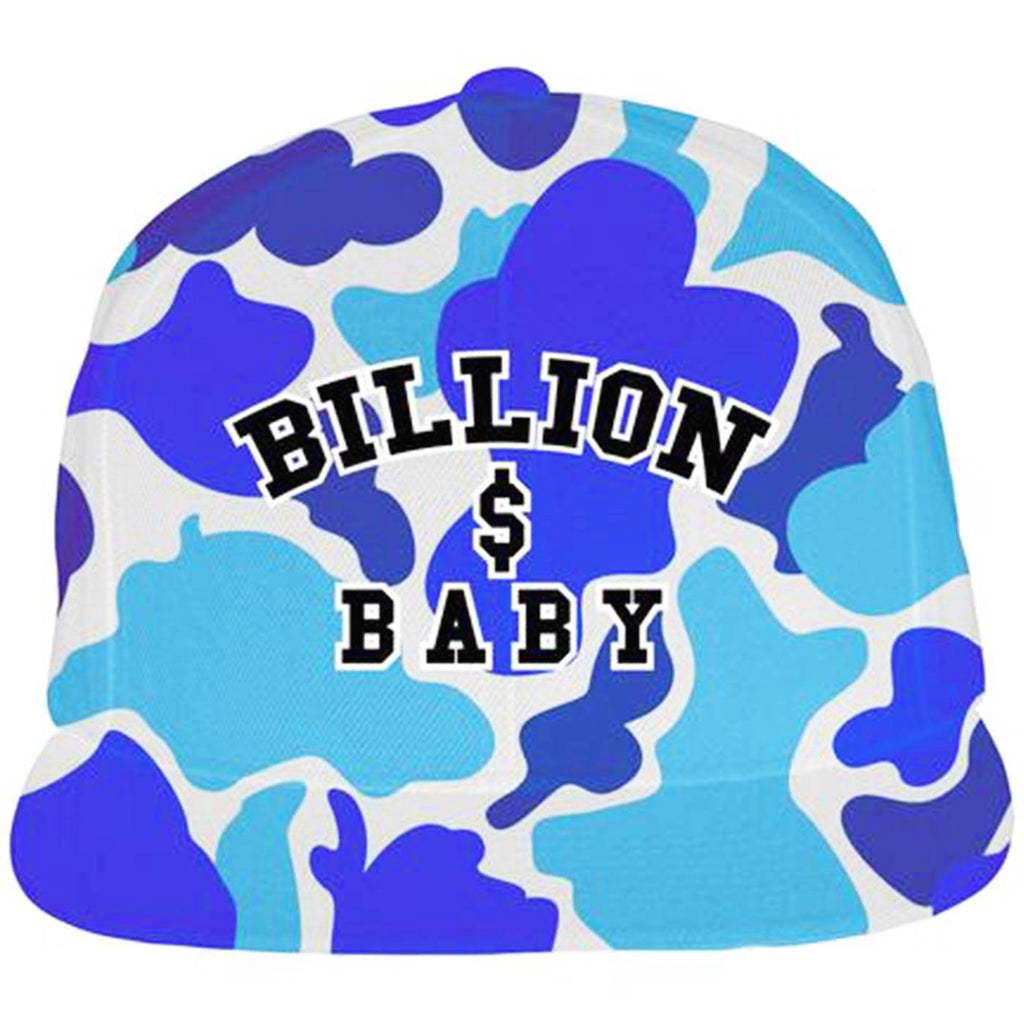 Blueberry Camo Hat (Blue)