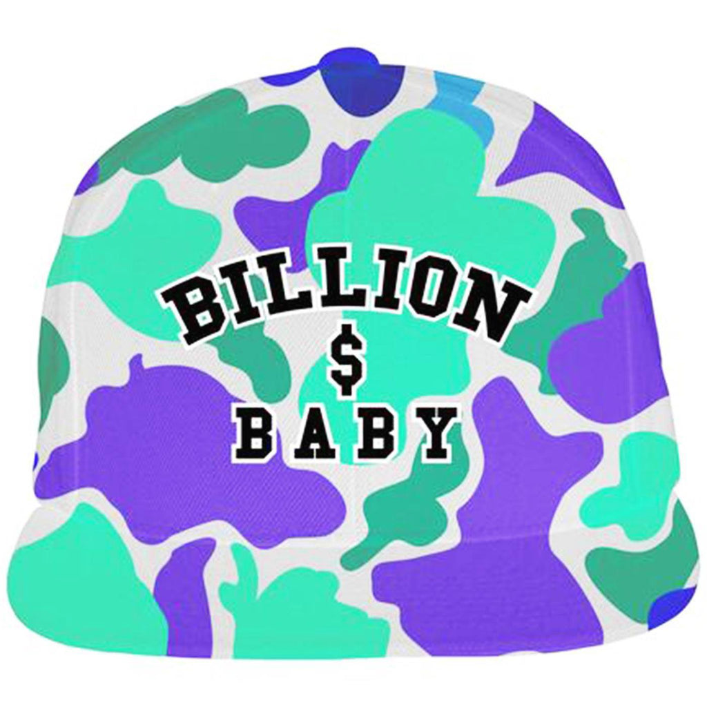 Grape Camo Hat (Purple)