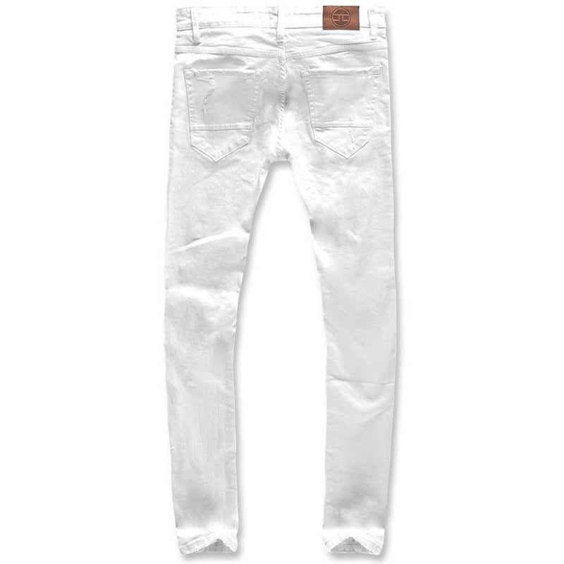Ross Irvington Denim White Rear | Jordan Craig