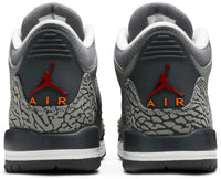 Air Jordan 3 Retro GS 'Cool Grey' 2021 398614 012 Rear | USW