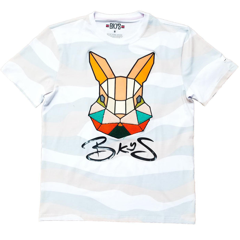 Rabbit Tee (White) | BKYS Black Keys