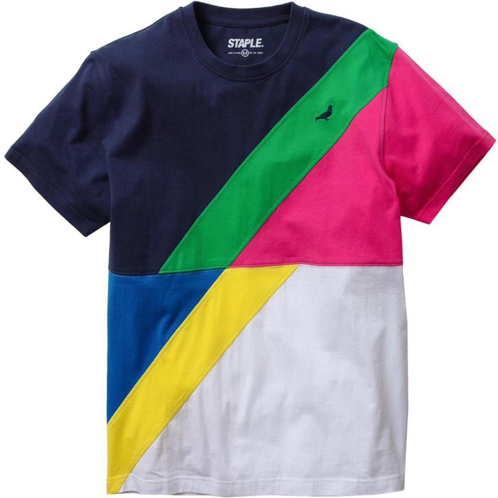 Sport Pieced Tee (Navy)