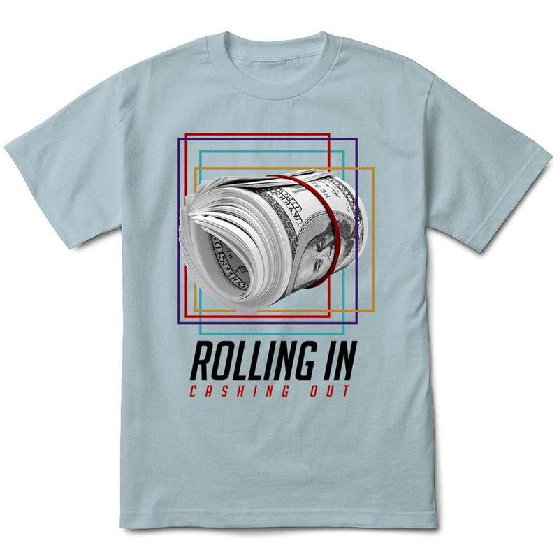 Rolling In Tee (Pale Blue) | Streetwear Official