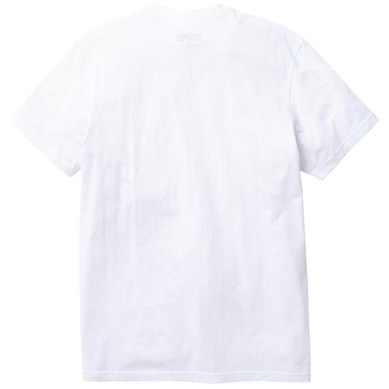 Camo Pigeon Tee (White) Rear | Staple Pigeon