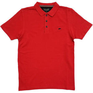 Marcus Polo Shirt (Red) | A. Tiziano