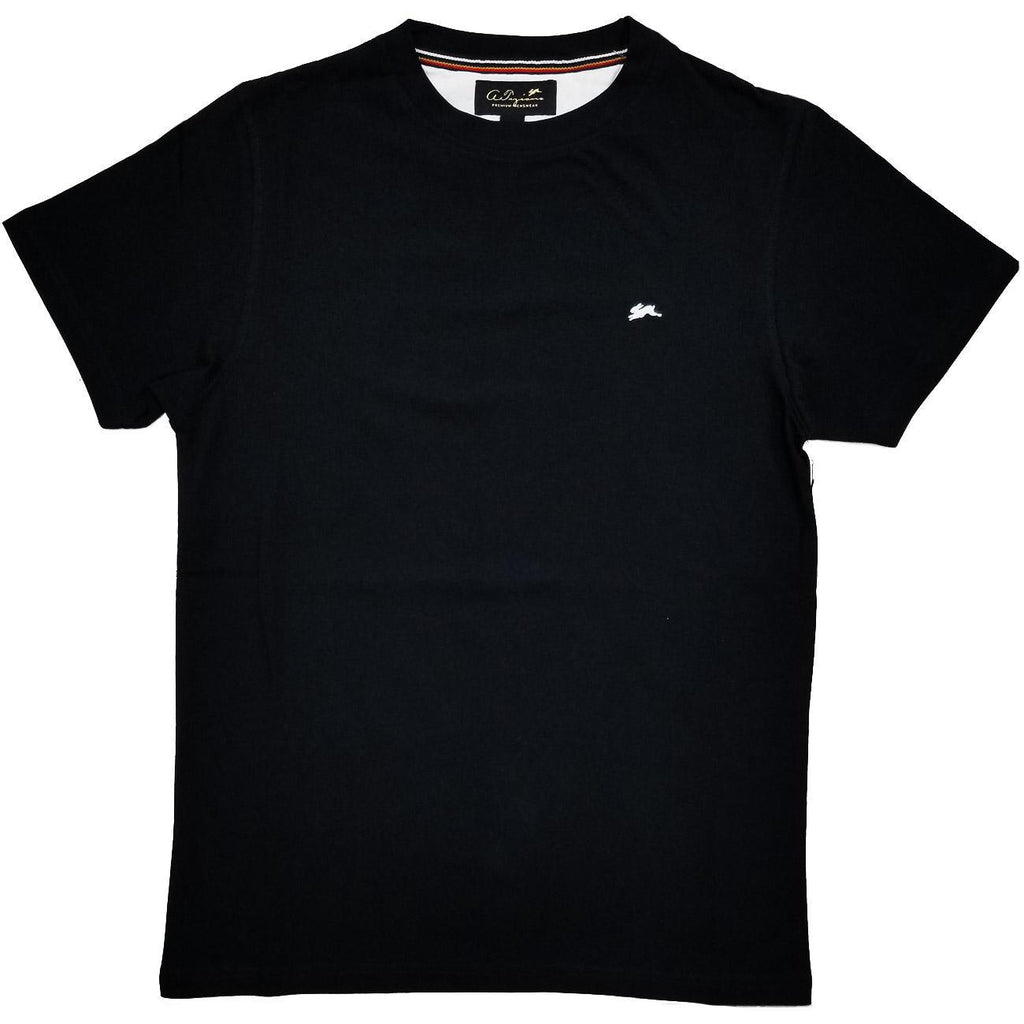 Evan Plain T-Shirt (Black) | A. Tiziano