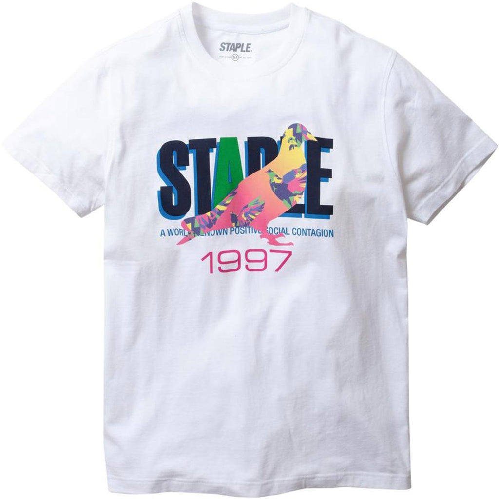 Prism Pigeon Tee (White)