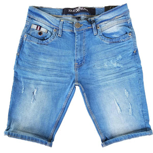 Light Blue Vintage Denim Shorts | X Ray Jeans