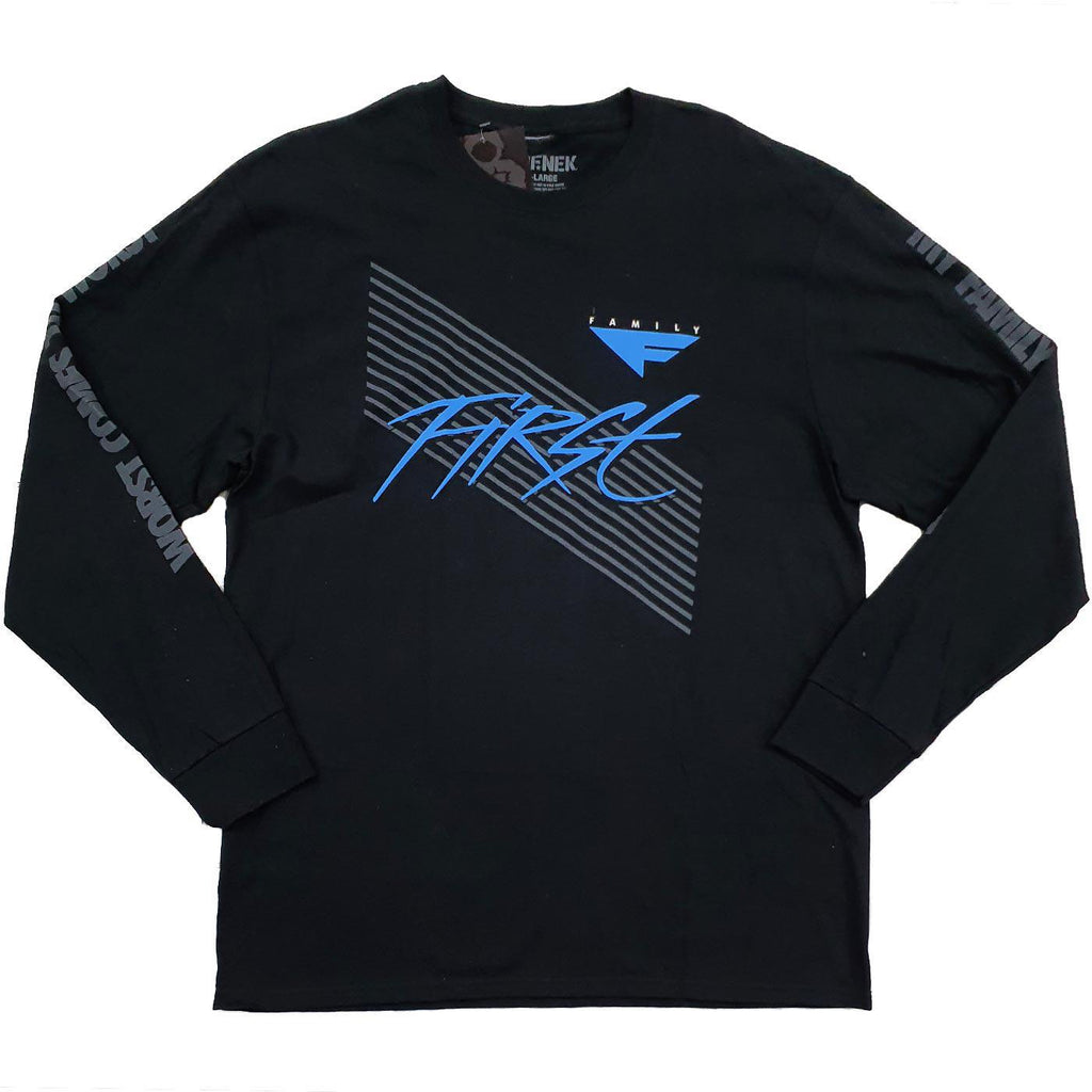 First Long Sleeve Tee (Black)