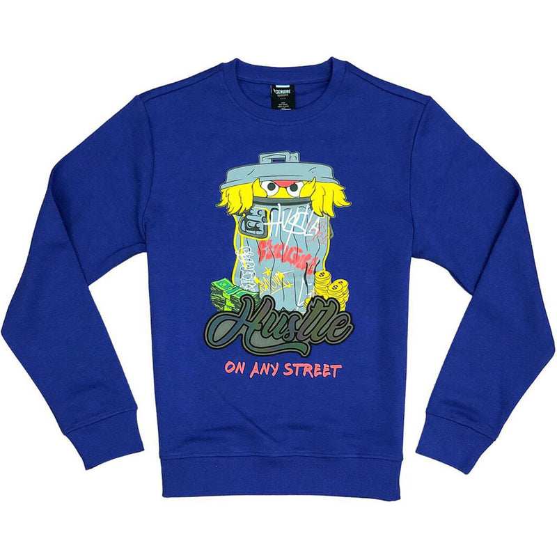 Sesame Crewneck (Royal)