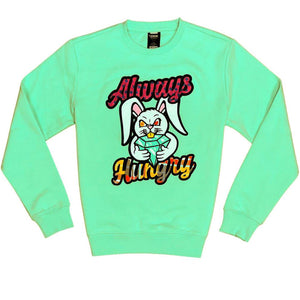 Always Hungry Crewneck (Mint)