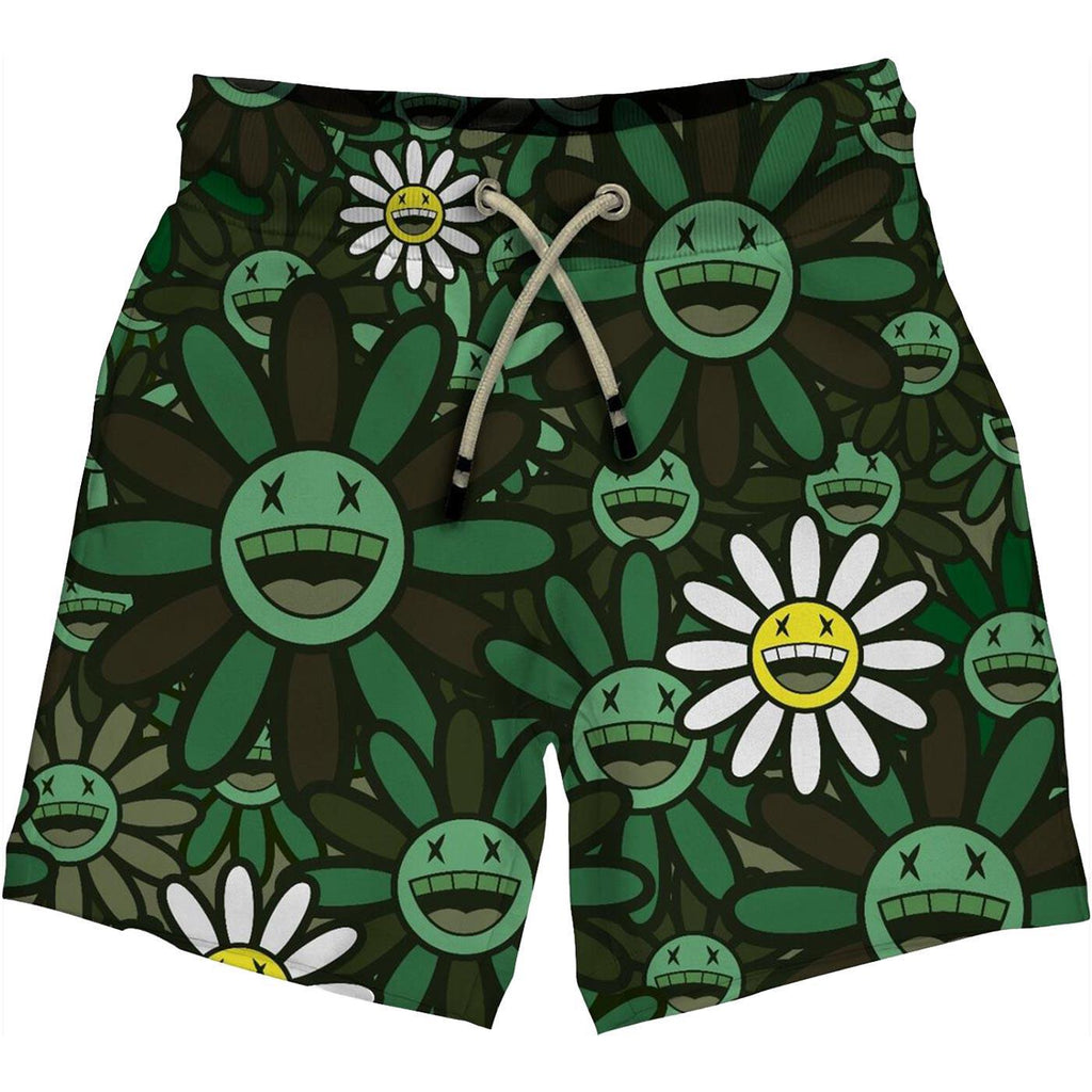 Maruchifu Summer Shorts (Green)