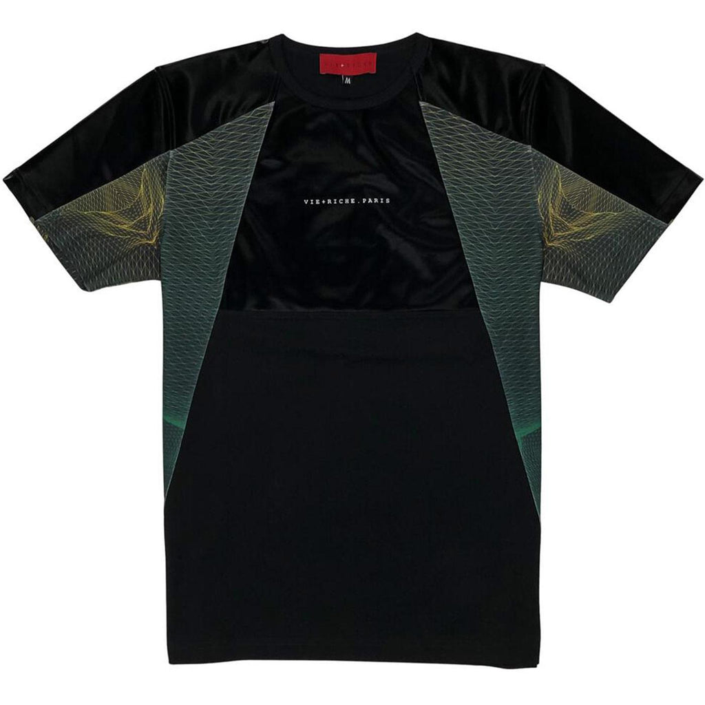 Orion Panel Tee (Black) | VIE+RICHE Paris