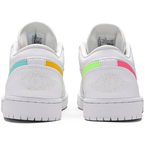 Air Jordan 1 Low 'White Multi-Color' | Urban Street Wear Rear
