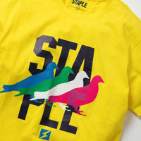 Pigeon Graphic Tee (Yellow)