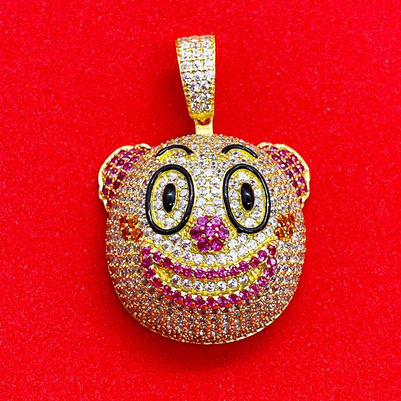 Clown Pendant (Gold) | USW Urban Street Wear