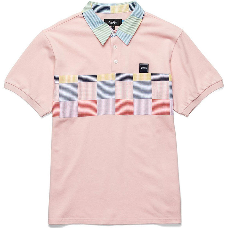 South Hampton Polo (Pink) | Cookies Clothing