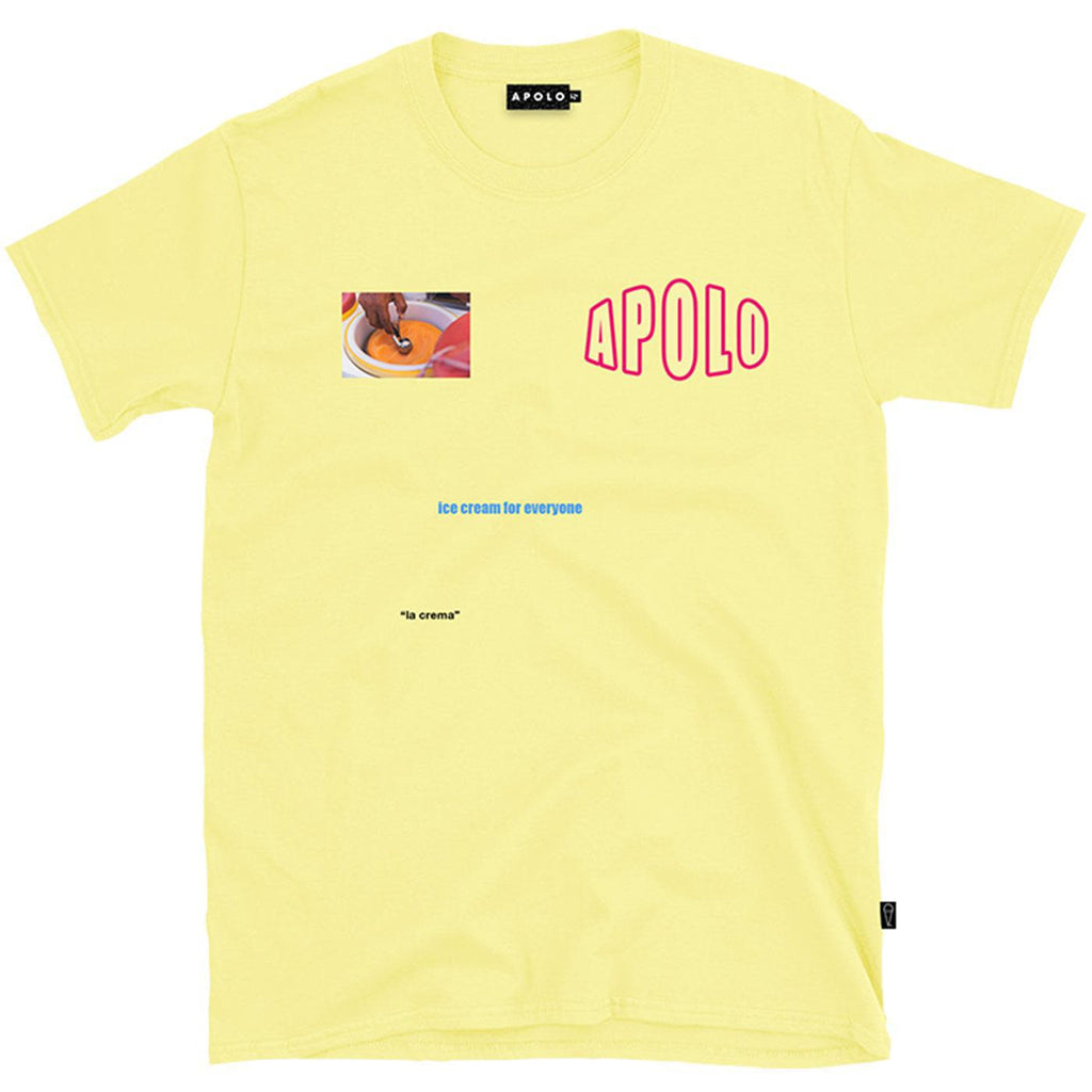 Ice Cream for Everyone Tee (Yellow) | Apolo Apparel