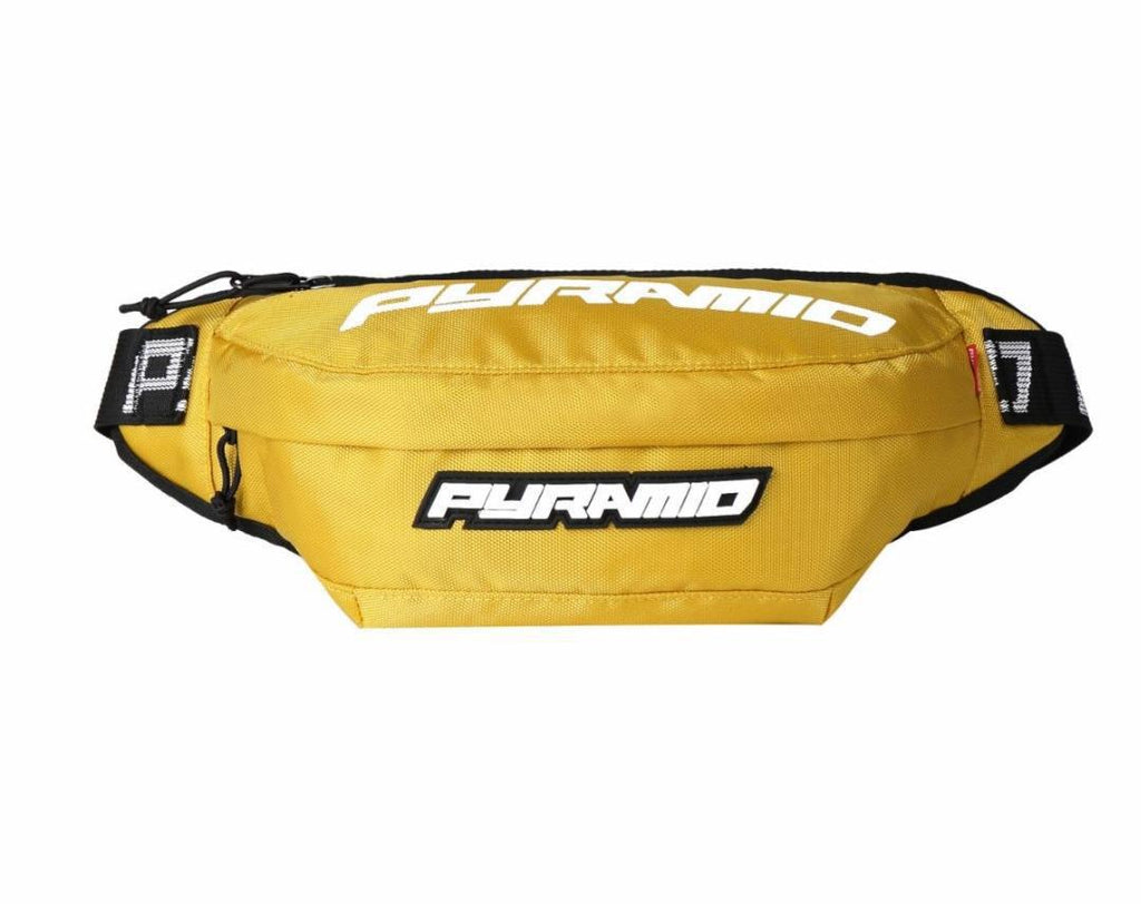 Black Pyramid Fanny Pack (Yellow)