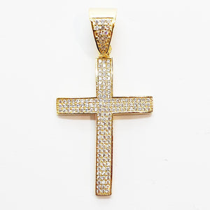 Medium Ice Cross Pendant