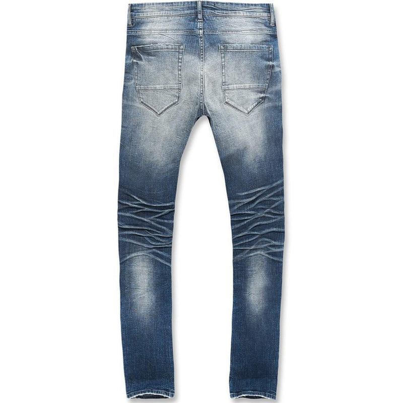 Ross Motor City Denim (Aged Wash) | Jordan Craig Rear