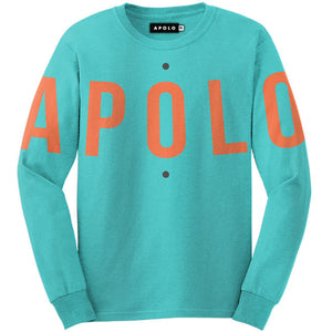 Apolo Logo Crewneck (Turquoise) | Apolo Apparel