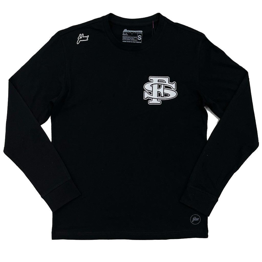 FS Long Sleeve Tee (Black/White) | FSHNS Brand