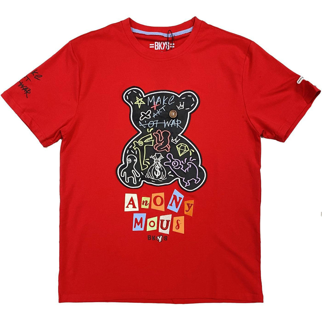 Anonymous Tee (Red) | BKYS Black Keys