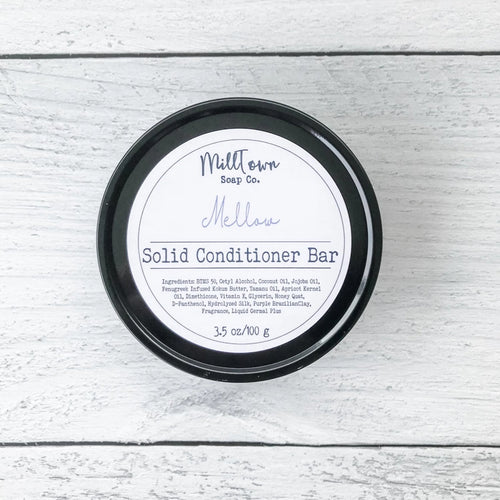 Solid Conditioner Bar with Travel Tin