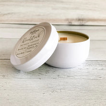 Load image into Gallery viewer, Woodstock Soy Candle Tin