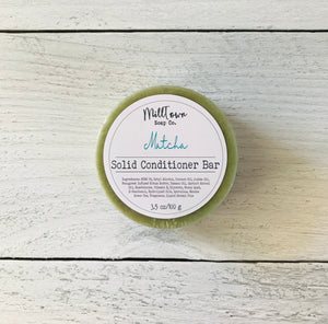 Solid Conditioner- Matcha {Fresh Bamboo}