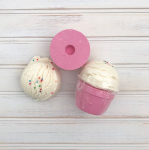 Bubble Bath Bomb Ice Cream Scoops